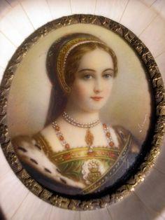 A romanticized miniature of Lady Jane Grey