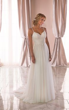 Wedding Dresses Lace Curvy Bride 6788 Casual Wedding Dress with Back Detail by Stella York.Wedding Dresses Lace Curvy Bride 6788 Casual Wedding Dress with Back Detail by Stella York Wedding Dress Black, Dream Wedding Dresses, Designer Wedding Dresses, Bridal Dresses, Bridesmaid Dresses, Lace Wedding, Gown Wedding, Casual Wedding Dresses, Grecian Wedding