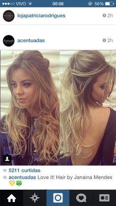 5 Top Trends in Bridal Hairstyles Loose Hairstyles, Party Hairstyles, Bride Hairstyles, Bridesmaid Hair, Prom Hair, Hair Flow, Hair Extensions Best, Sleek Ponytail, How To Make Hair