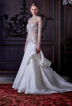 Brides.com: Monique Lhuillier - Spring 2016