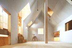 Japanese minimalist residence, Ant House project, designed by Makinohara-based design studio mA-style Architects