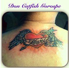 Sweet heart tattoo by Don Catfish Gorospe