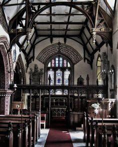 Although the interior of Llanyblodwel Church feels distinctly medieval much of what you see today was created by the Reverend John Parker in the 1840s.  _ #igw_gothika #churchesofinstagram #tv_churchandgraves  #sombresociety #jj_architecture #church_masters #llanyblodwel #loves_united_wales #interiorarchitecture #interior #total_churches #victorian #igw_sepulcrum #19thcentury #thehub_church #church #art #churches #igerswales #infinity_churches #gothic #medievalworld #total_medieval #wales…