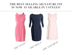Ruffles, Lace and Scallops! Shop all 3 Camilyn Beth signature fit dresses here: https://www.camilynbeth.com/signature-fit/
