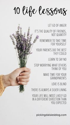 10 Life Lessons I've learned In My 30 years – Picking Daisies Lessons Learned In Life Quotes, Life Lesson Quotes, Important Life Lessons, Important Things In Life, Learning To Say No, Learning Quotes, Education Quotes, Lavender Quotes, Meaningful Quotes