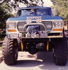 Bigfoot #1 the early days