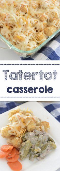 Easy Tatertot casser