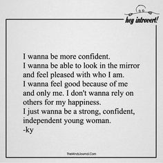 I wanna be more confident - https://themindsjournal.com/i-wanna-be-more-confident/