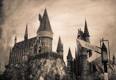 The Hogwarts Castle  --LOVE all things Harry Potter