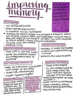thestudiousstudent:   how to improve memory... - Black Messy Desk
