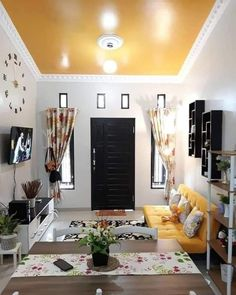 Exciting Small Living Room Ideas to Transform Your Cramped Space – Indian Living Rooms Tiny Living Rooms, Small Living Room Design, Indian Living Rooms, Living Room Interior, Home Living Room, Living Room Designs, Small House Interior Design, Home Room Design, House Design