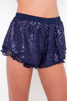 sequin shorts!! LOVEE!