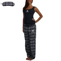 Toronto Maple Leafs Ladies Concepts Revolution Sleep Set - Navy Blue