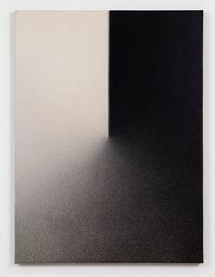 Marco Tirelli, Senza titolo, 2011, inchiostro e acrilico su tela
