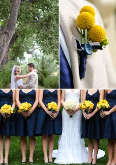 Wedding Flowers Blog: TEAL AND MUSTARD