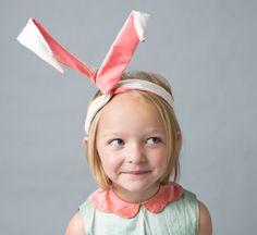 DIY Bunny Ears Easter craft - cute!