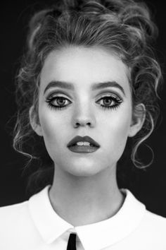 Jade Pettyjohn  Photography and Retouching: Samantha Annis Hair: Bradley Seale Makeup: Erin Guth  Actress, Teen, Entertainment, School of Rock, Nickelodeon, Twiggy, Editorial, Makeup, Black and White