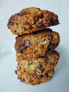 Cookies moelleux chocolat banane vegan