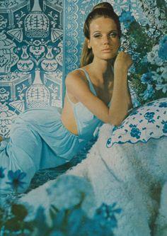Veruschka  Model Veruschka photographed by Horst for Beauty Editorial. Vogue UK,November 1965.