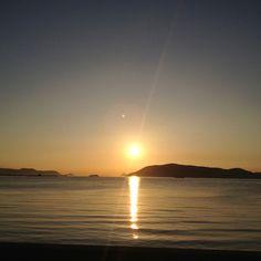 Yashima sunset