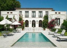 Flamingo Drive Residence - mediterranean - pool - miami - Jarosz Architect, P.A.