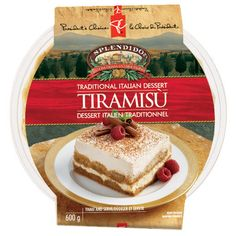 Ah, Tiramisu... Soooo good! Even this packaged version from President's Choice is incredible!