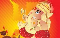 Lord Ganesha Wishes Happy Diwali 2013