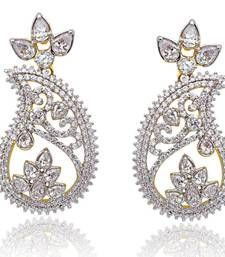 Buy Mango Shape Earrings danglers-drop online