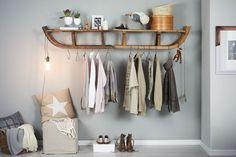 Schlitten-Garderobe, Anleitung und Bilder bereitgestellt von Bosch