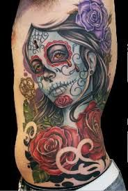 Resultado de imagem para tatuagem caveira mexicana