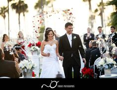 Hyatt Huntington Beach wedding photography - Orange County -- Call (310) 882-5039 if you are looking for CA wedding clergy. https://OfficiantGuy.com