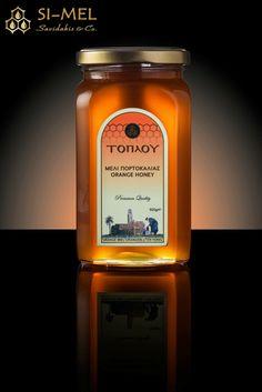 Honey ! New luxury honey package! Orange honey Toplou! Premium Quality! Honey traditional label! Honey design!