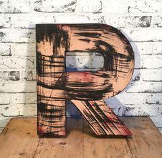Vintage Decorative Letter R Letters, Vintage, Decor, Decoration, Letter, Vintage Comics, Lettering, Decorating, Deco