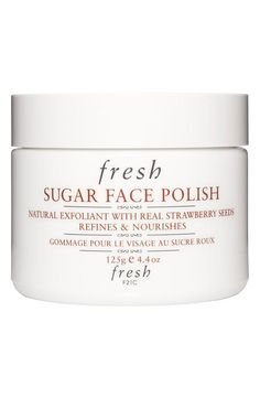 Fresh - Strawberry seed exfoliant #beauty #products
