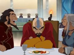 Siblings in a nut shell! Don't worry tenzin, I can never think of good comebacks when my older siblings tease me either. -_-