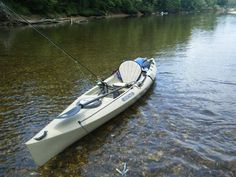 In a big Heritage fishing kayak like this one, you can haul a lot of gear.