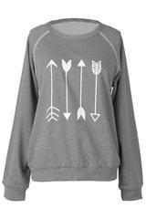 Cupshe Say Yes to the Arrow sweatshirt - L