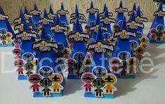 Cone Power Rangers Samurai no Elo7 | Drica Ateliê - Lembranças e brindes personalizados (A0DA6E) Power Ranger Samurai, Power Rangers Ninja, Hanukkah, Decor, Table Decorations, Personalized Stationery, Decoration, Decorating, Deco