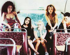 Spice girls! #BabySpice #PoshSpice #GingerSpice #ScarySpice #SportySpice #EmmaBunton #GeriHalliwell #VictoriaAdams #MelanieB #MelanieC ✊
