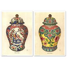 Fourmaintraux Vases  Diptych