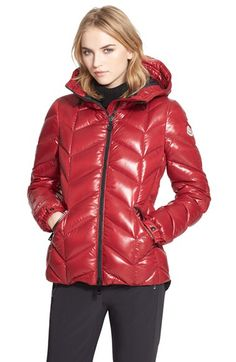 Moncler Moncler 'Badete' Hooded Down Puffer Coat available at #Nordstrom