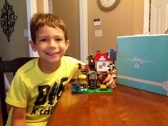 Monthly subscription to Legos - it's like Netflix DVDs for but for Legos!