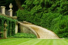 outdoormagic:  Longwood Gardens: Water Staircase by Photommo on Flickr.