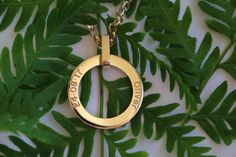 Build Your Own Engraved Personalised LoveLoops Necklace Engraved Necklace, Name Necklace, Washer Necklace, Pendant Jewelry, Gold Jewelry, Circle Of Life, Build Your Own, Solid Gold, Rose Gold