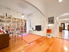 Bookshelf dreams. This house won design and architecture awards last year for residential $2-3 million renovation. 61 Wilson Street