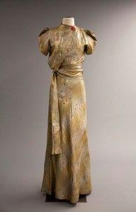 Elsa Schiaparelli 'Zodiac Collection' Evening Dress Winter 1938-39, French Gift of Mrs. Rodolphe Meyer de Schauensee
