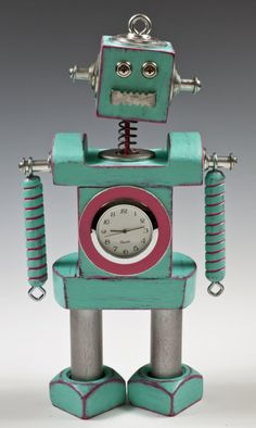 robot clock for @Katie Holland
