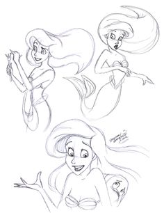 Ariel, just beautiful... such a classic Disney character❤