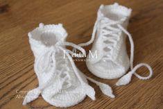 Crochet baby sandals baby gladiator sandals baby by EditaMHANDMADE