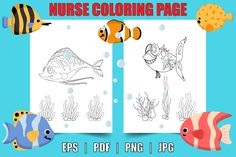 Fish Coloring Page, Coloring Pages For Kids, Wordpress Website Design, Page Design, Activities, Kids Coloring Pages, Coloring Pages For Boys, Coloring For Kids